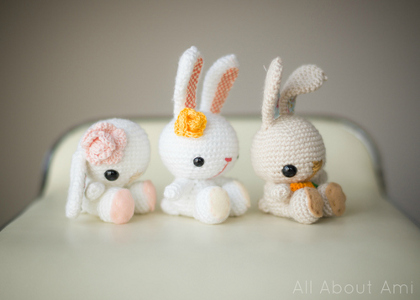Spring Bunnies from All About Ami