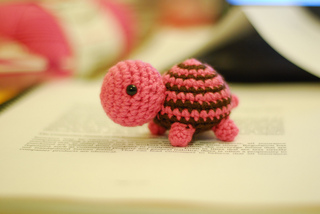 Tiny Striped Turtle via Ravelry
