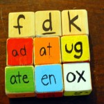 Word Family Blocks