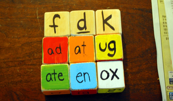 DIY Word Family Blocks