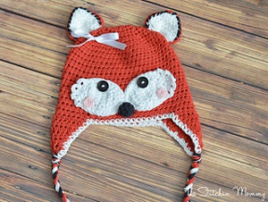 Fox Hat from The Stitchin' Mommy