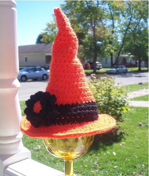 Newborn Witch's Hat from Stitch11