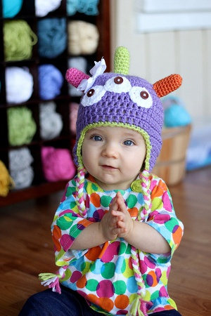Monster Hat from Daisy Cottage Designs