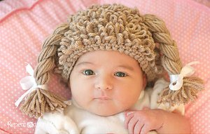 Cabbage Patch Beanie from Repeat Crafter Me