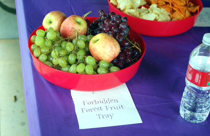Harry Potter Party - Forbidden Forest Fruit Tray