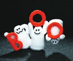 BOO Ghosts from Talking Crochet