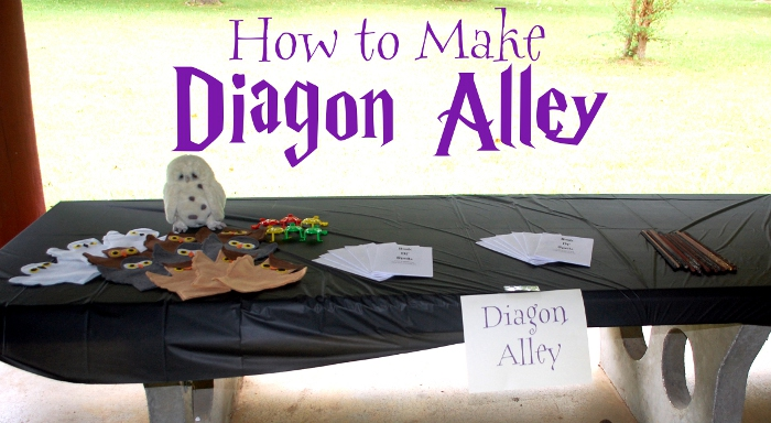 How to Make Diagon Alley