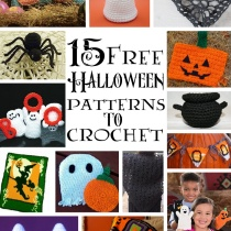 15 Free Halloween Patterns to Crochet