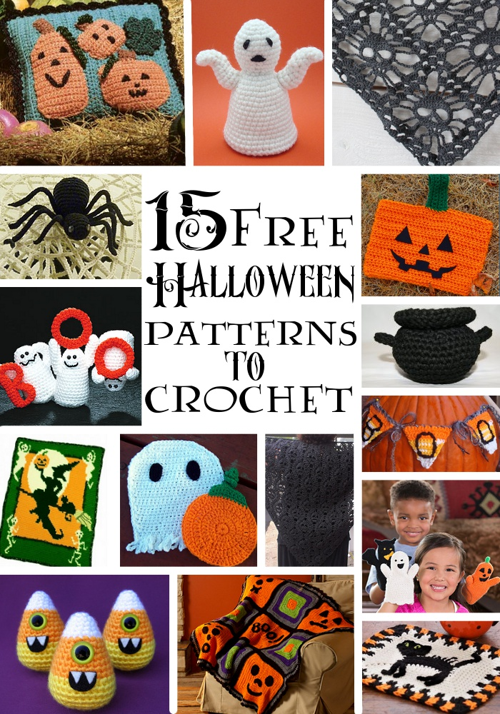 15 Free Halloween Patterns To Crochet Imagine