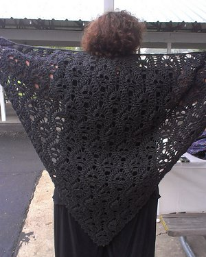Lost Souls Skull Shawl from Ravelry