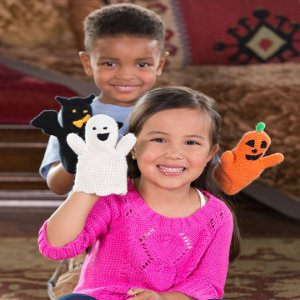 Halloween Puppets from Red Heart