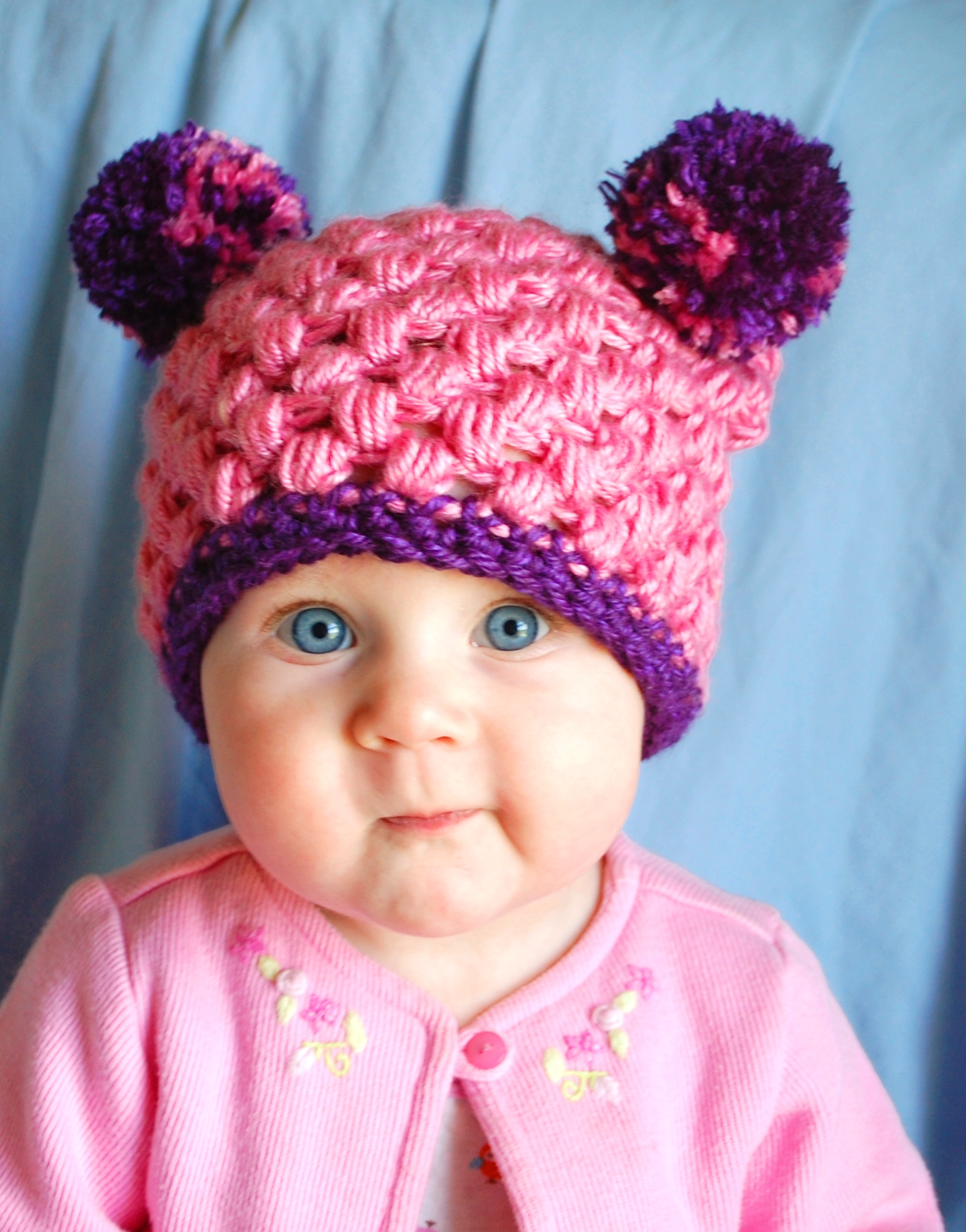 Pygmy Puff Pompom Hat by Melissa Mall